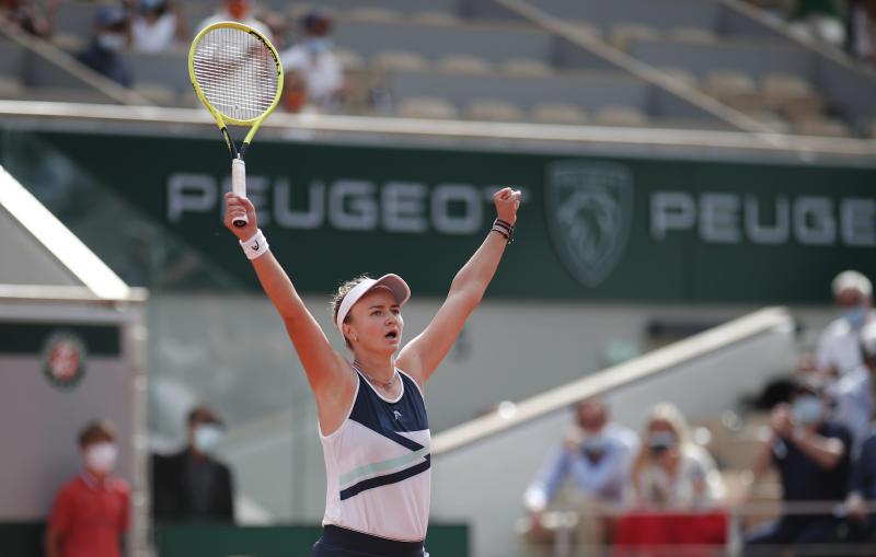 Czech Barbora Krejcikova wins French Open women's title
