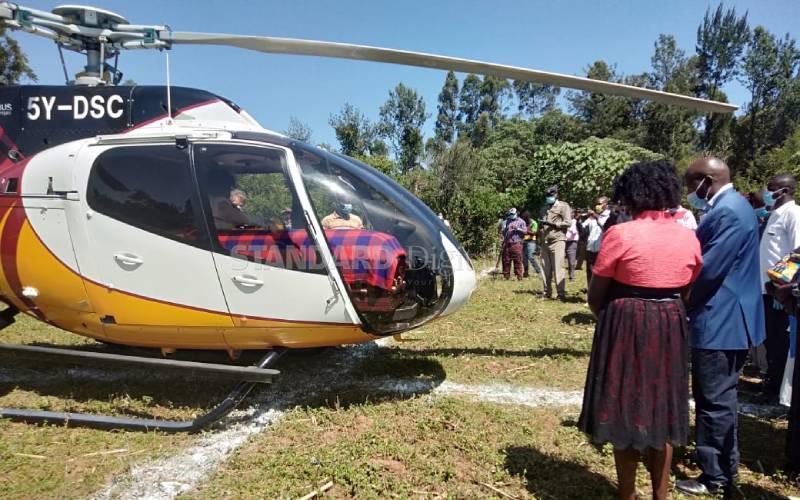 DP Ruto, Raila among leaders who flocked MP Murunga's home for funeral [Photos]
