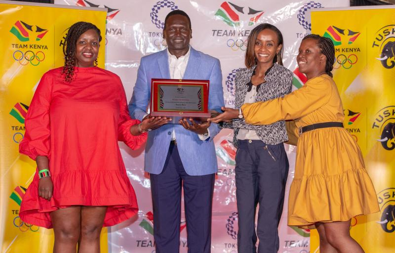 EABL commits to sponsoring Team Kenya and National Olympic Committee