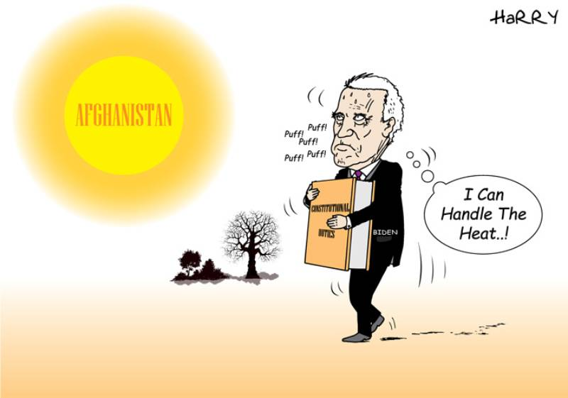 Editorial: Afghanistan heat