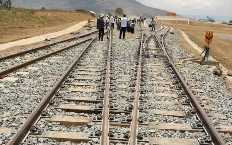 Extension of Sh3.5b meter-gauge railway line complete