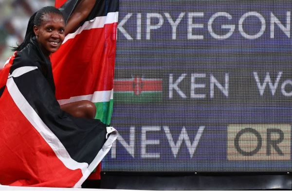 Faith Kipyegon's plans to transition to 5,000m after Olympic Games