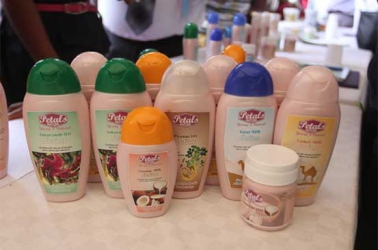 First anti-ageing camel milk skin care