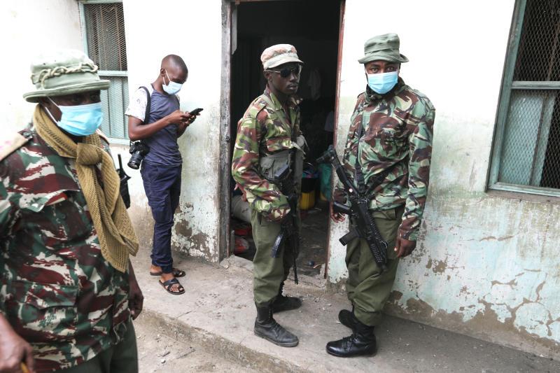 Five suspected gangsters shot dead in Mombasa