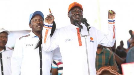 Six things Raila said during NASA's last rally