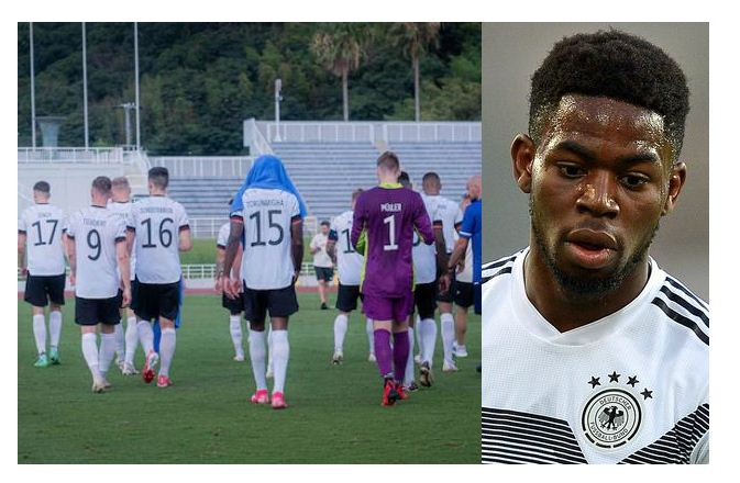 German men's Olympic football team walk off in friendly after alleged racist abuse