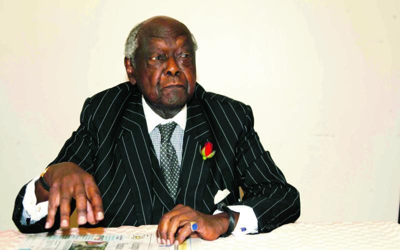 Goat meat, honey and cold beer: Njonjo's secret as he turns 101