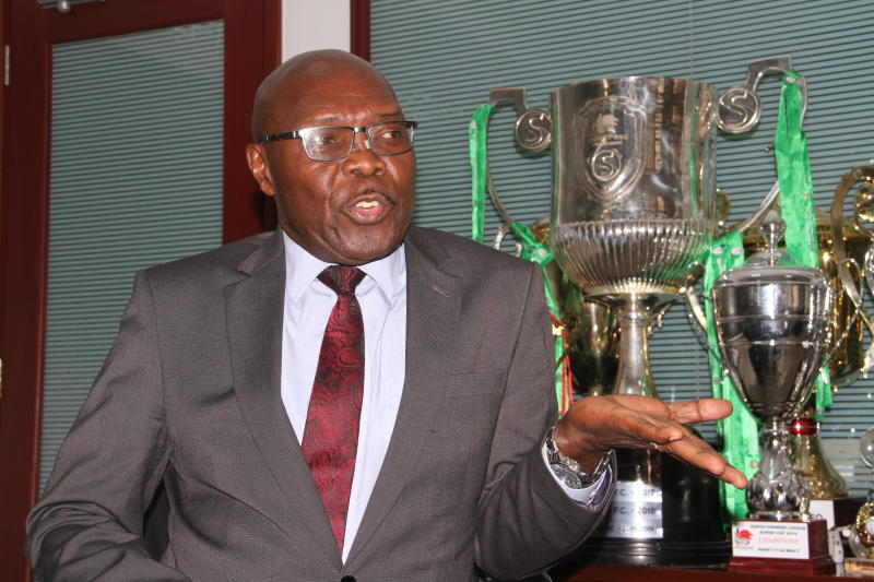 Gor Mahia: How Ambrose Rachier was elected unopposed