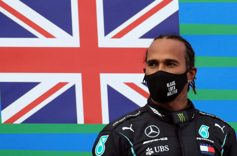 Hamilton signs on for two more years at Mercedes F1 team