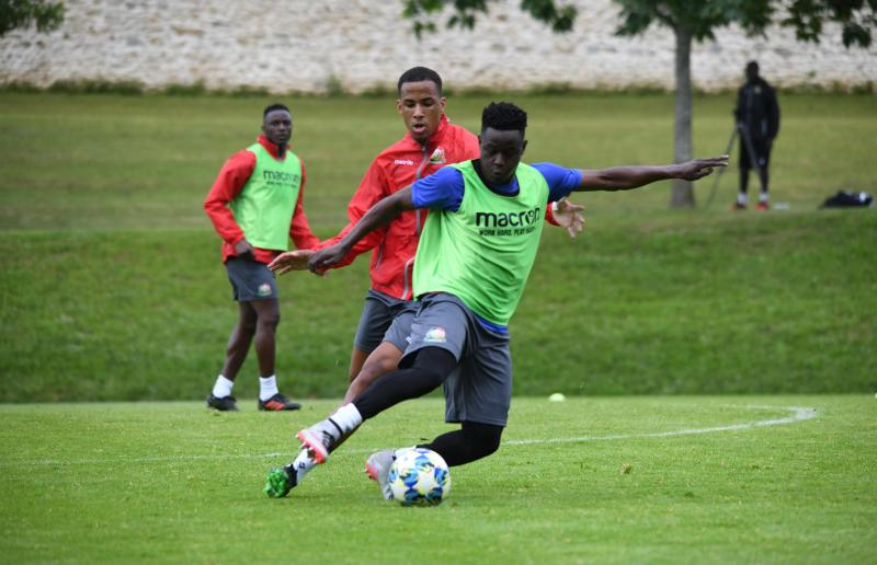 Harambee Stars defender Eric Ouma  suffers injury in training with his Swedish club