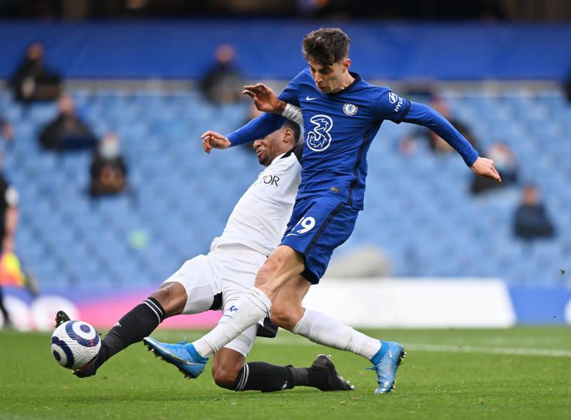 Havertz double sinks Fulham in 2-0 Chelsea win