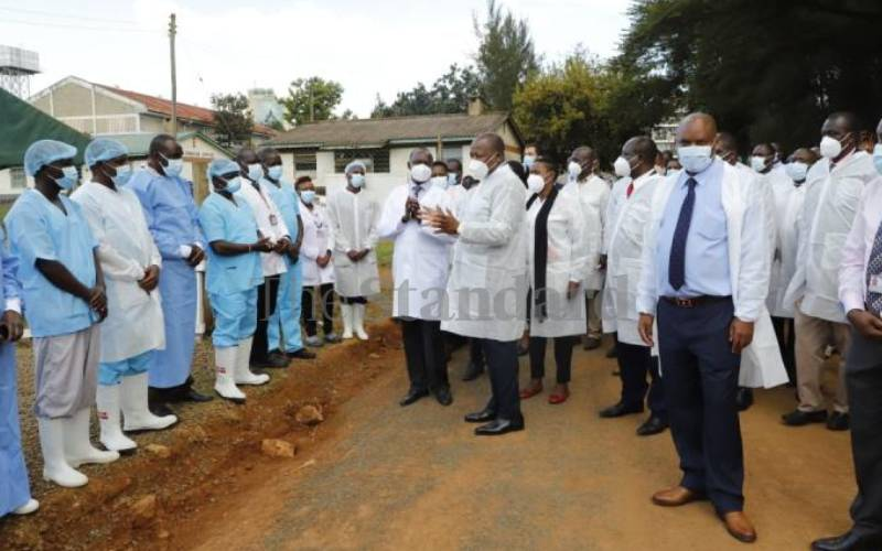 Health CS commissions oxygen plant and lauds hospital management
