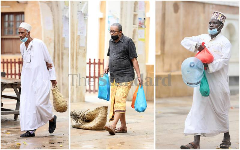Picture story: County where men buy the groceries while wives wait at home
