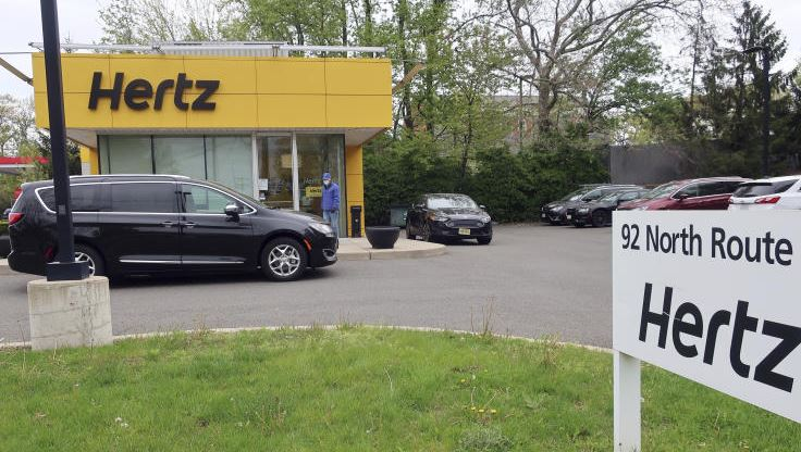 Hertz files for US bankruptcy protection as car rentals stall
