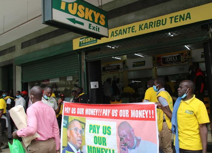 How founder's magic faded from Tuskys stores