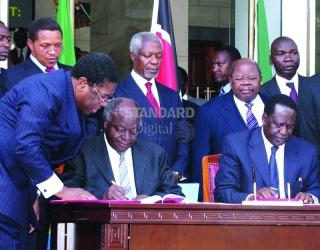 How Kibaki, Raila power sharing deal was struck