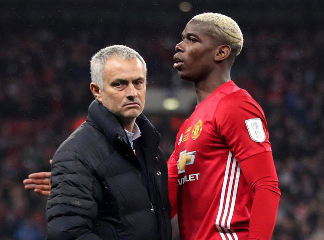 I couldn't care less with what he says – Mourinho responds to Pogba's scathing attack