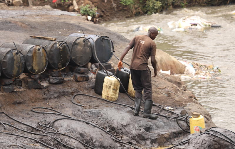 In pictures: Mathare's illegal changaa 'sewage breweries' exposed
