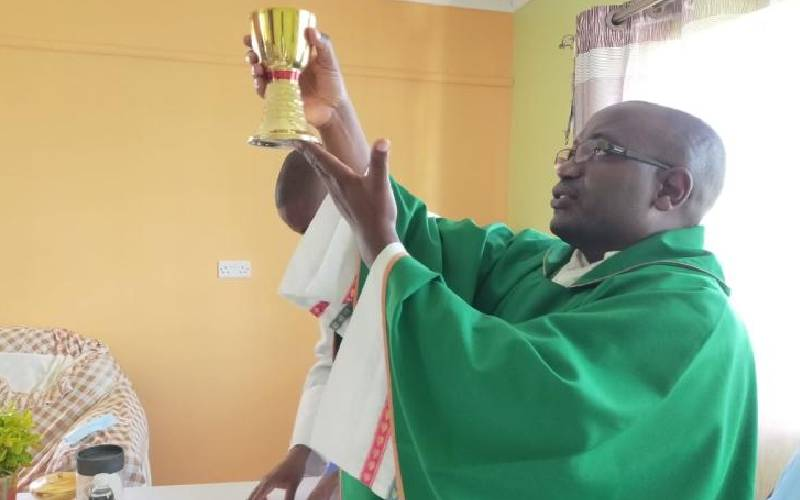 Inspired by his father's beating, Catholic priest now has five degrees