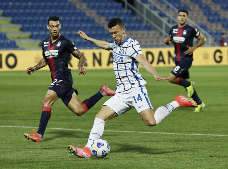 Inter on brink of Serie A title with win that relegates Crotone