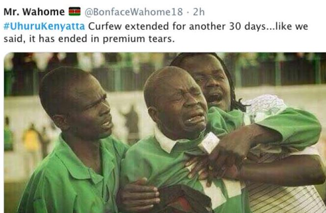 It all ends in tears after memes fail to sway president