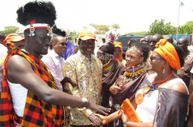 Jubilee holding back the country, says Raila