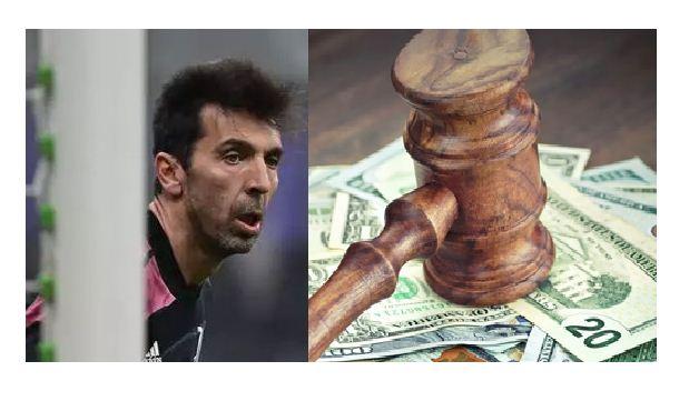 Juventus goalkeeper Gianluigi Buffon fined for blasphemy