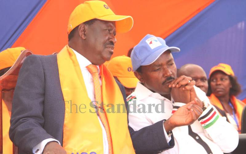 Kalonzo says Raila owes him no political debt in race for top seat