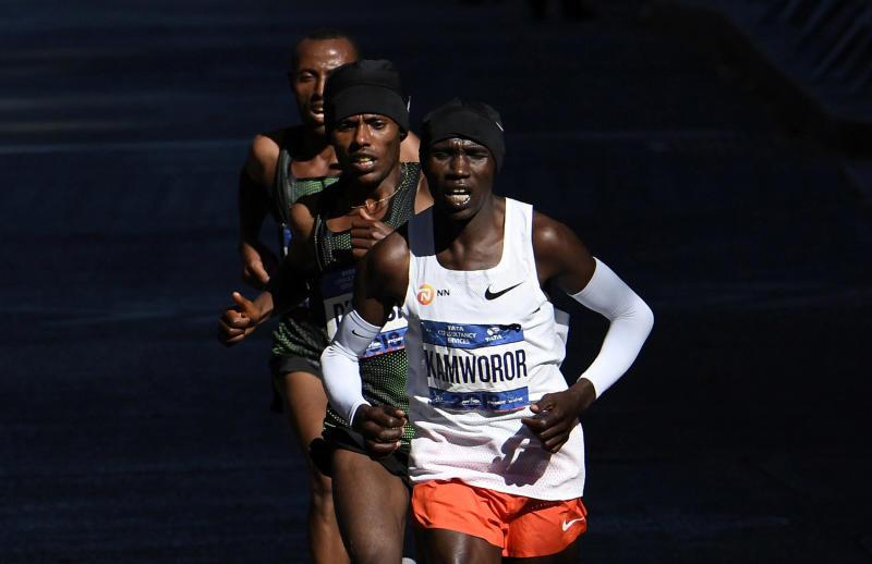 Kamworor says he was in top shape, rues virus disruption