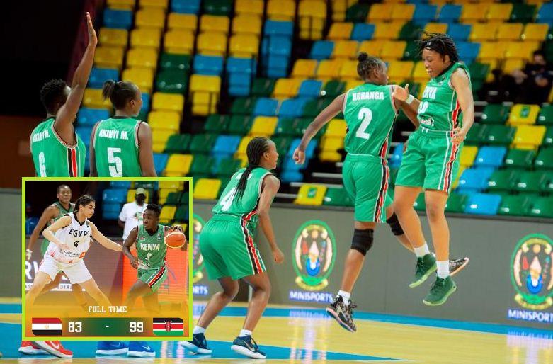 Kenya Lioness defeat Egypt to qualify for Afrobasket
