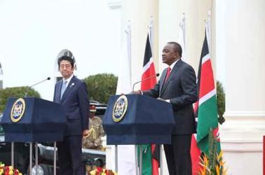 Kenya now battlefront for China and Japan
