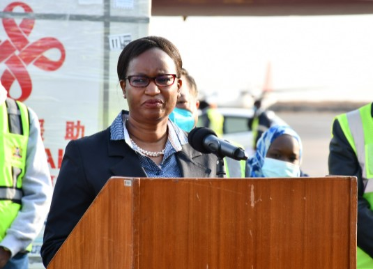 Kenya receives 200,000 doses of Sinopharm vaccine from China