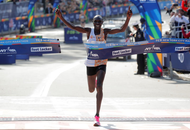 Kenyan half marathon world record holder hit by motorcycle, suffers head and ankle injuries