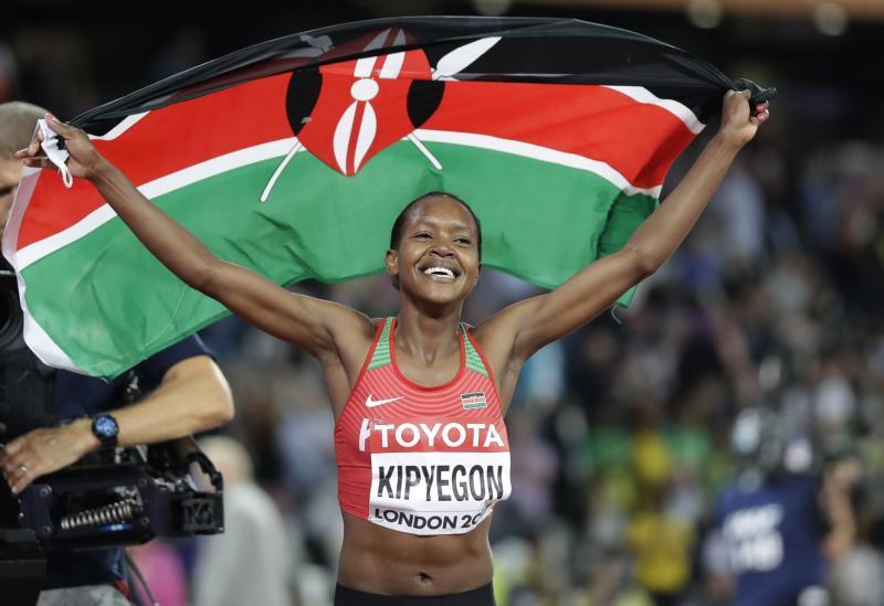 Kenyans have Faith in Chepngetich to strike gold in Tokyo