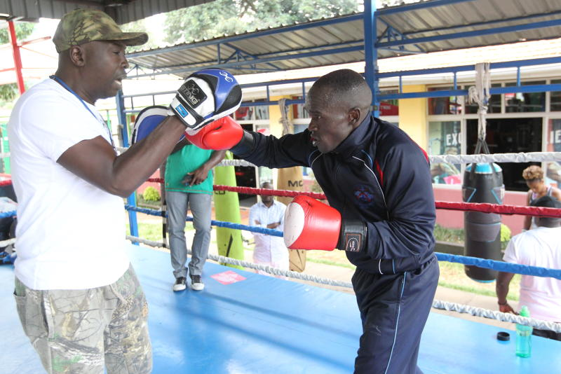 Kenya's Okoth steps up training on his speed as he eyes Olympic medal
