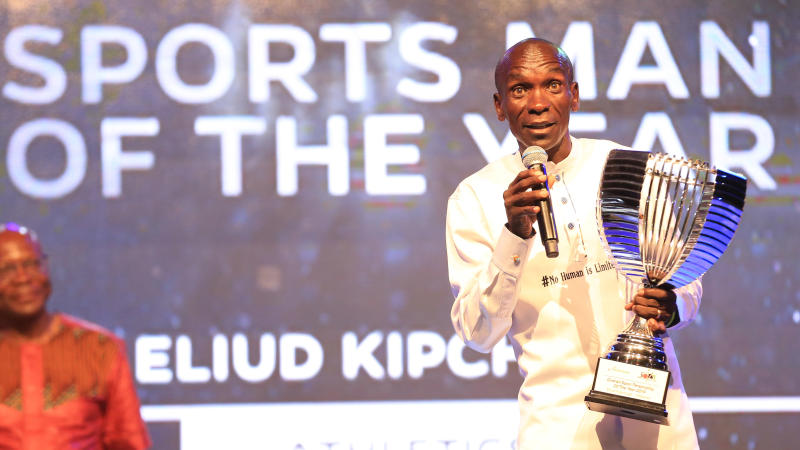 Kipchoge urges fellow athletes to continue training