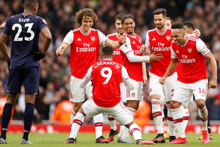 Lacazette the hero as late strike extends Arsenal's unbeaten run