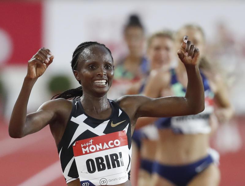 Kip Keino Classic full results: Kenya's Obiri, Beatrice Chepkoech make history at Nyayo Stadium