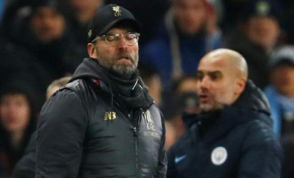 Liverpool's Klopp says teams will find it harder to stop Man City