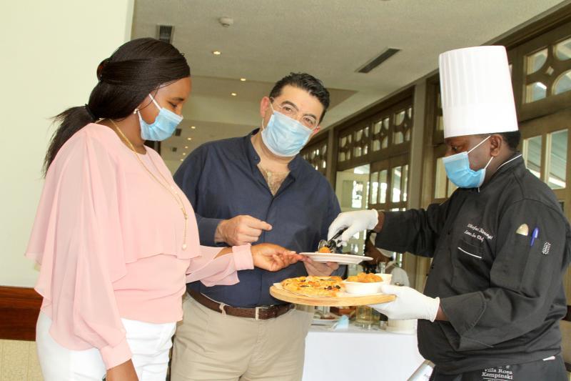 Luxury hotel Kempinski reopens restaurant