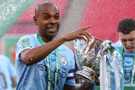 Man City captain Fernandinho named on Premier League released list