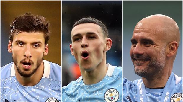Man City trio sweep Premier League end of season awards