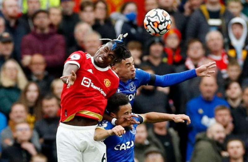 Man United frustrated by Everton in Old Trafford draw