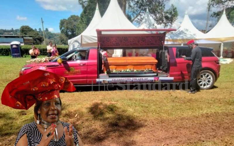 Manduli eulogized as fearless in trendy send-off