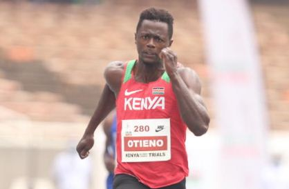 Mark Otieno suspended hours to 100m dash at Tokyo Olympics