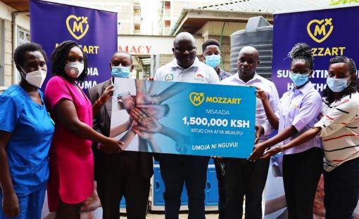Mozzart donates ICU equipment worth Ksh 1.5 million to Mukuru Health Center in Nairobi