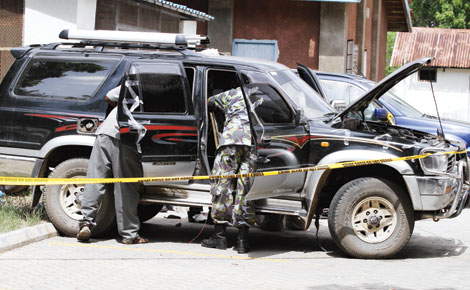 Car found with explosives in Mombasa