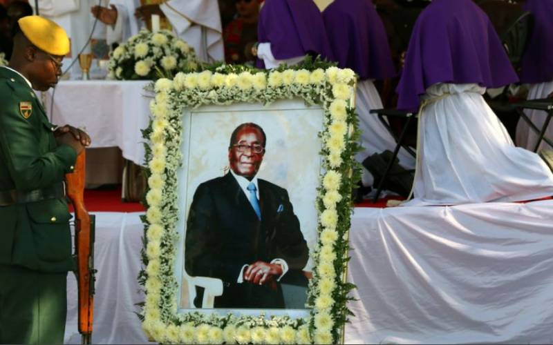 Mugabe's remains should be reburied at Harare monument, magistrate rules