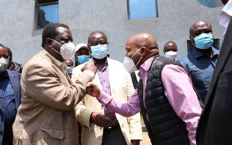 Musalia Mudavadi courts Mt Kenya for Deputy President