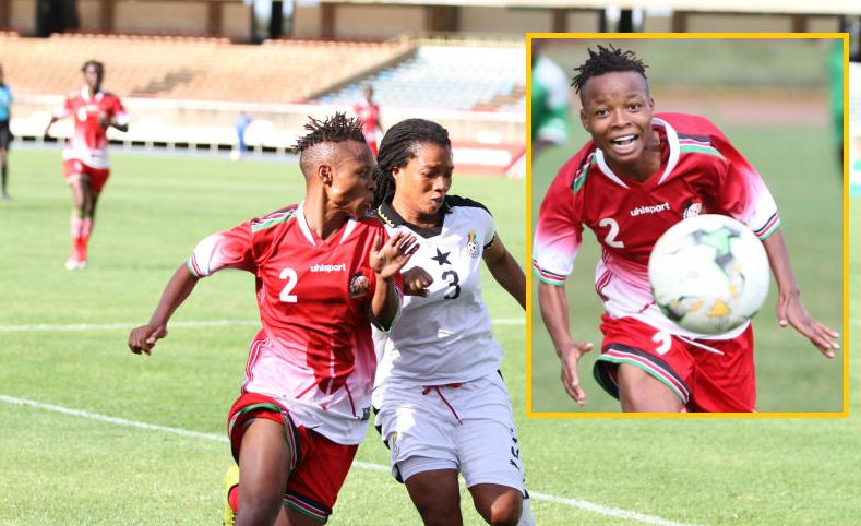 Mwanahalima to lead Harambee Starlets attack ahead of Zambia friendly